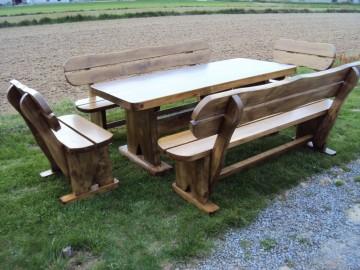 rustikale gartenm bel aus holz kaufen neue g nstige m bel onlineshop garden paradies handmade. Black Bedroom Furniture Sets. Home Design Ideas