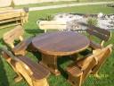 Rustikale Gartenmöbel aus Massivholz Handarbeit
